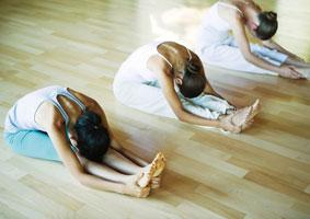 фото женская йога