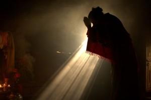 женщина будда